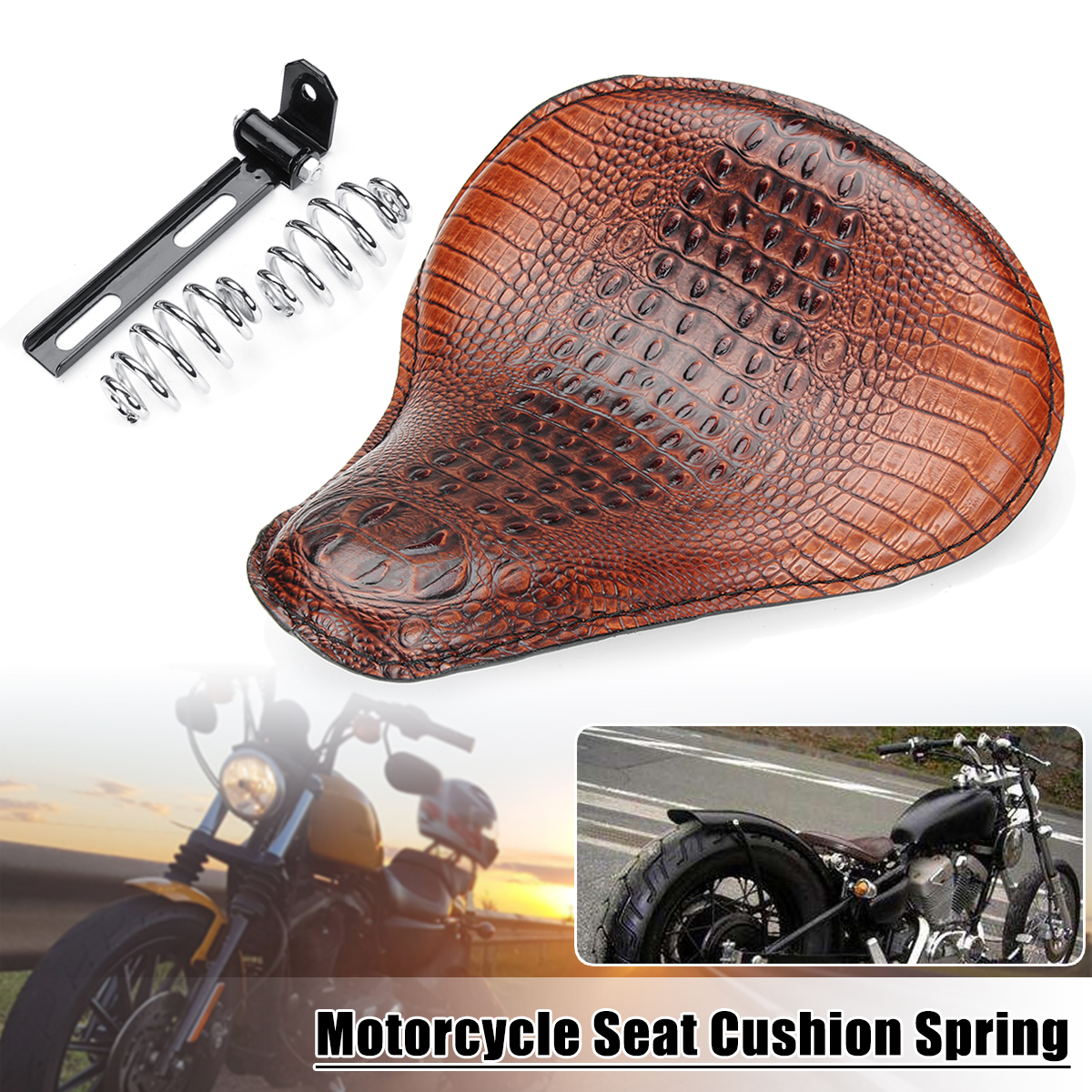 Motorcycle Solo Seat Spring Kit For Yamaha V Star 1300 1100 950 650 250 Classic