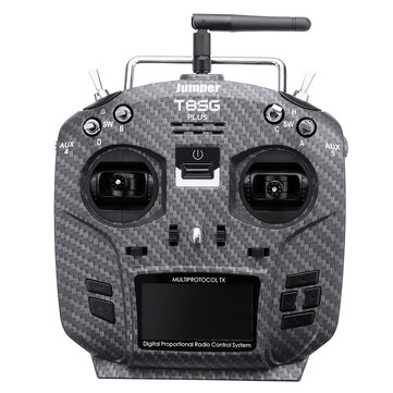 Coupone for 15% OFF for Jumper T8SG V2.0 Plus Carbon Special Edition Hall Gimbal Multi-protocol Advanced Transmitter for Flysky Frsky