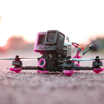 Coupone for iFlight Cidora SL5 V2.1 HD 4S 217mm 5 Inch FPV Racing Drone BNF DJI FPV Air Unit F7 FC 50A BLHeli_32 ESC Freestyle 2207 2450KV Motor Pink