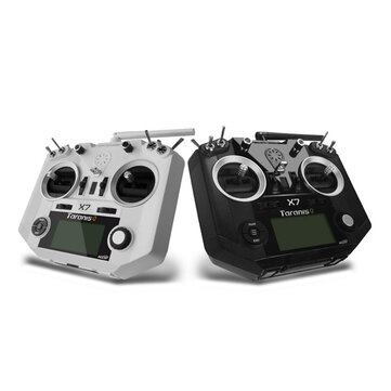 Coupone for FrSky ACCST Taranis Q X7 Transmitter 2.4G 16CH Mode 2 White Black International Version for RC Drone