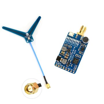 Coupone for MATEK Systems VTX-1G3-9 1.2Ghz 1.3Ghz 9CH International INTL Version FPV Video Transmitter for RC Drone Goggles Monitor Airplane Long Range