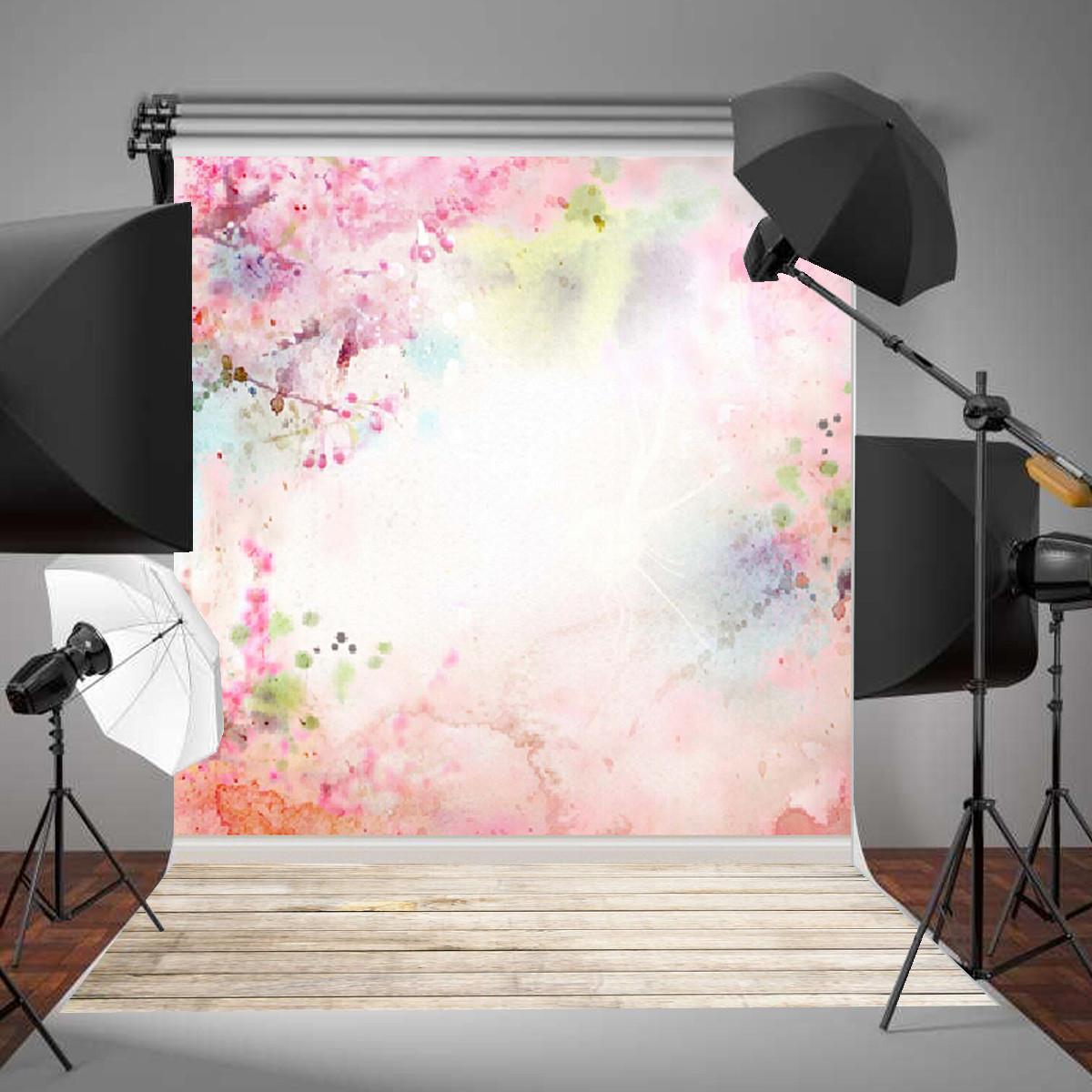 Vinyl szövet háttér fotózáshoz.Virágos fotó háttér 210cm x 150cm 1128457