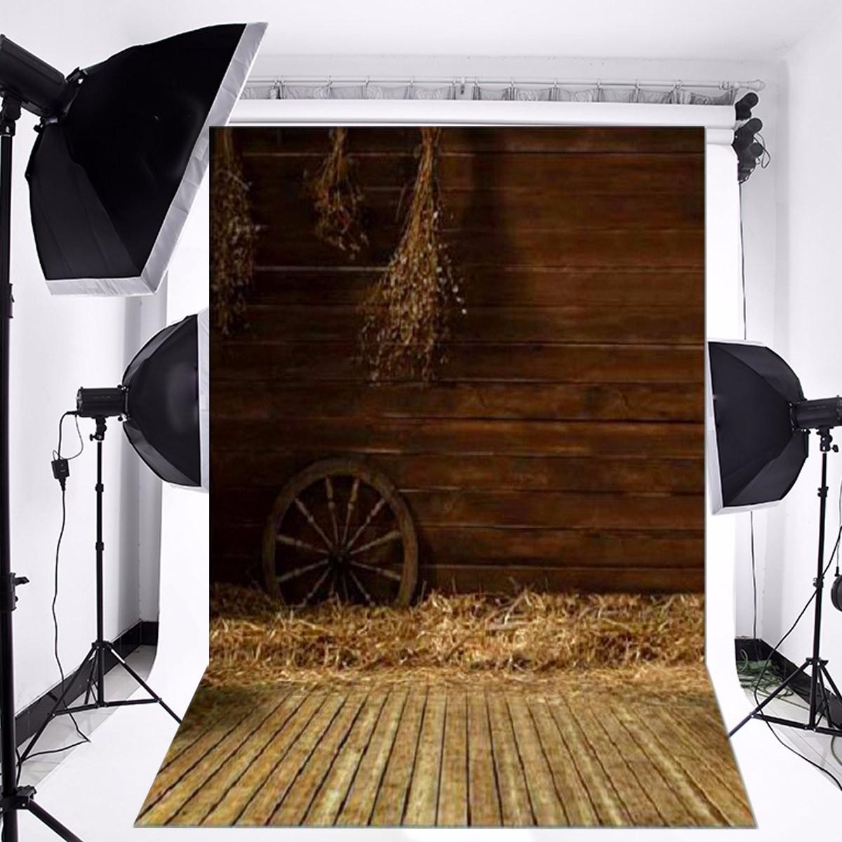 Vinyl háttér fotózáshoz. Retró, fa falat ábrázoló fotó háttér 90cm x 150cm 1121722