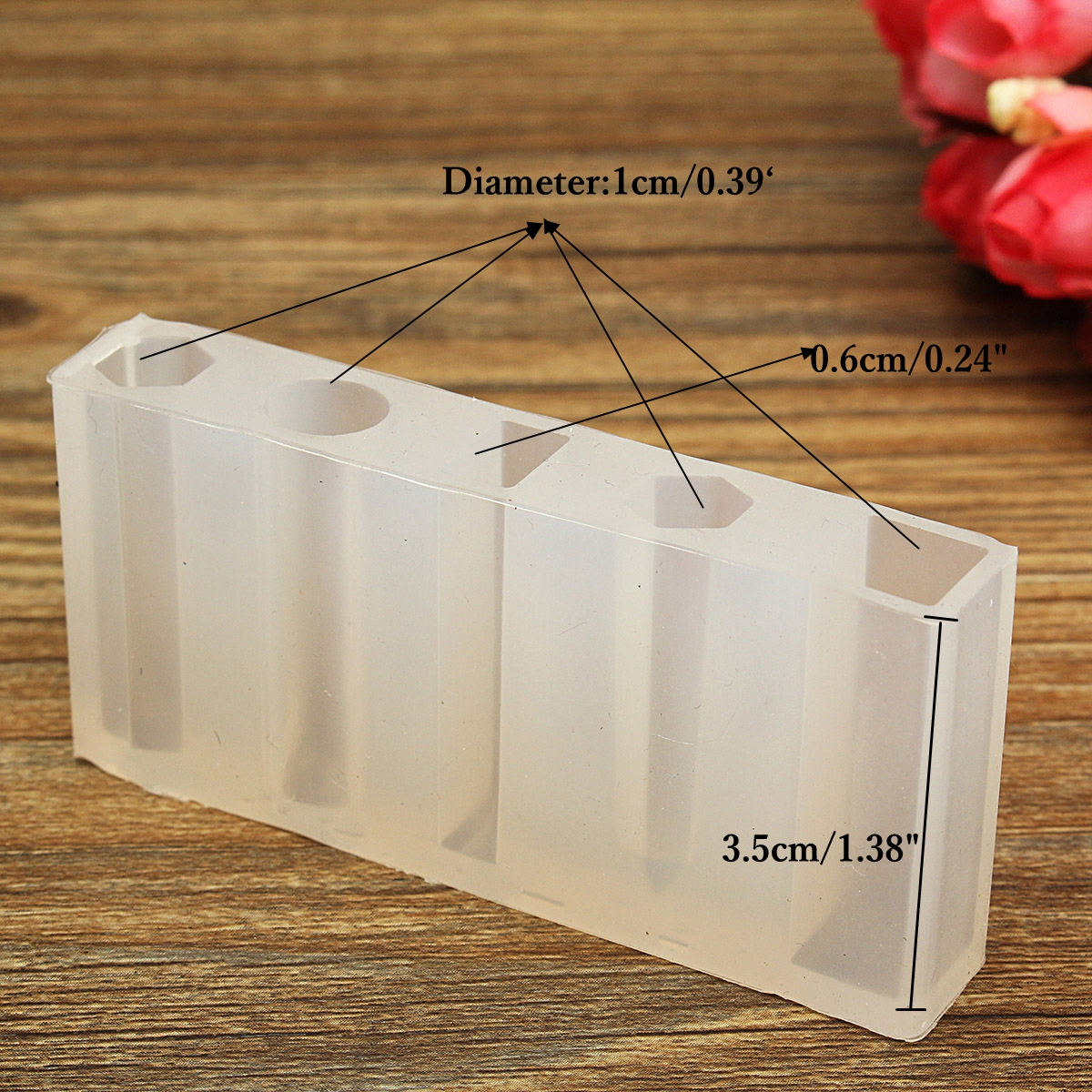DIY Silicone Resin Pendant Mold Necklace Jewelry Mould Accessories Design