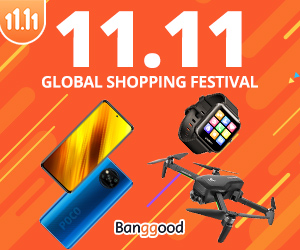 Banggood Double 11 Singles Day Fashion Sale
