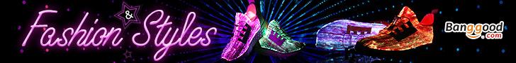 USB Colorful Light Shoes