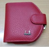 Women Genuine Leather Coin Key Purse Card Holder Mini Wallet