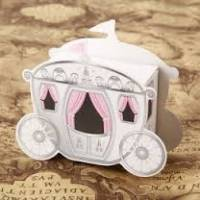 1PCS Enchanted Mini Pumpkin Carriage Princess Candy Box Wedding Party Favor Gift Storage