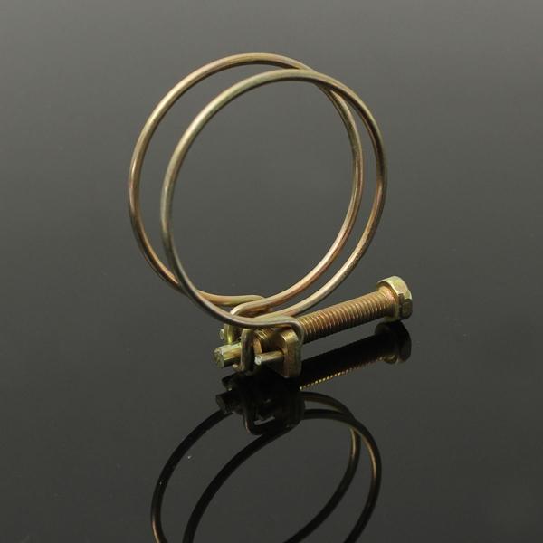 Регулируемый двойной провод воды газовый шланг зажим трубы зажим обруча водопроводу