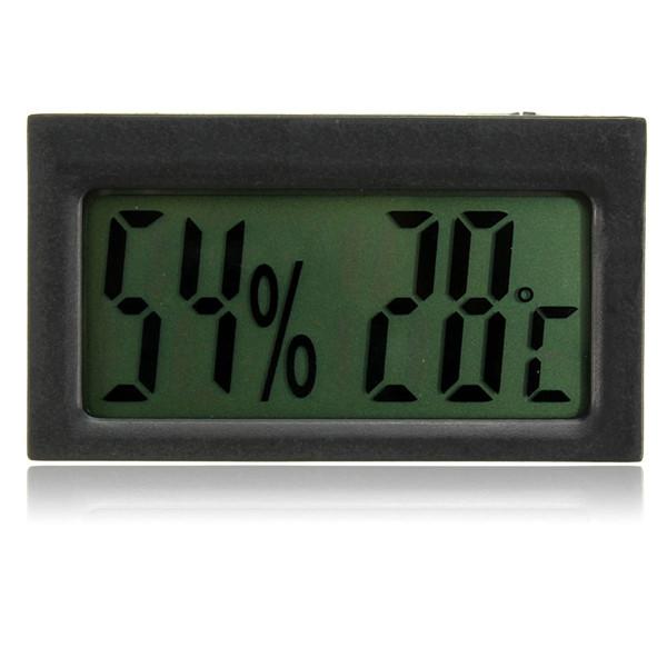 Авто цифровой ЖК-термометр гигрометр температуры и влажности