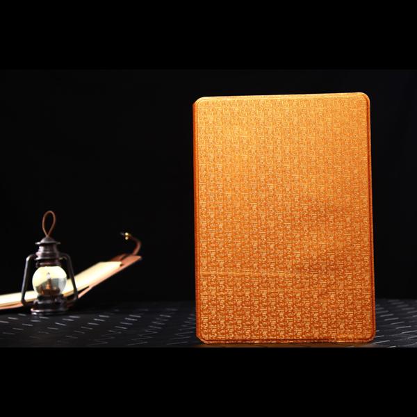 Тонкий Фолио типа книги лабиринт зерна кожаный чехол с подставкой для iPad воздуха 2