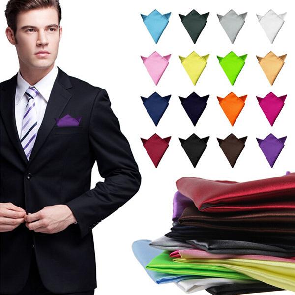 2шт сатин шелк мужской костюм платок носовой платок банкет свадебный платок