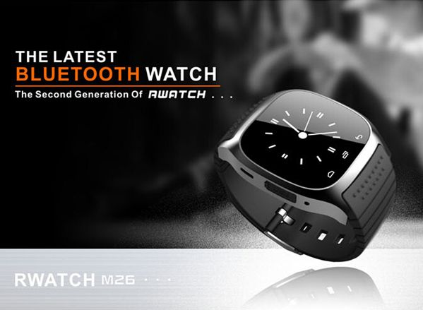 Bakeey M26 bluetooth R-Watch SMS Anti Lost Smart Watch For Android 8
