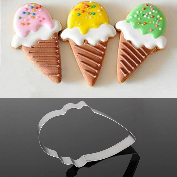 Нержавеющая сталь мороженое в форме печенья печенья украшая инструмент