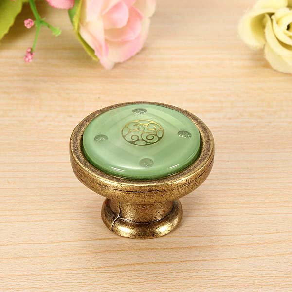 Bronze Door Drawer Cupboard Knob Cabinet Pull Handle Kitchen