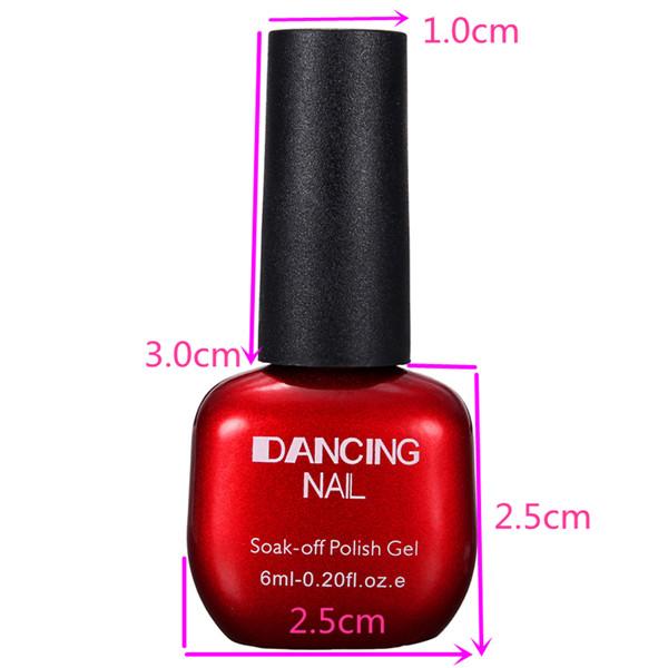 47 Colors DANCING NAIL Charming Nail Art UV Gel Polish Soak-Off
