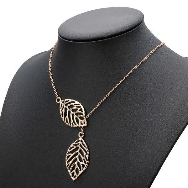 Big Leaf Pendant Necklace