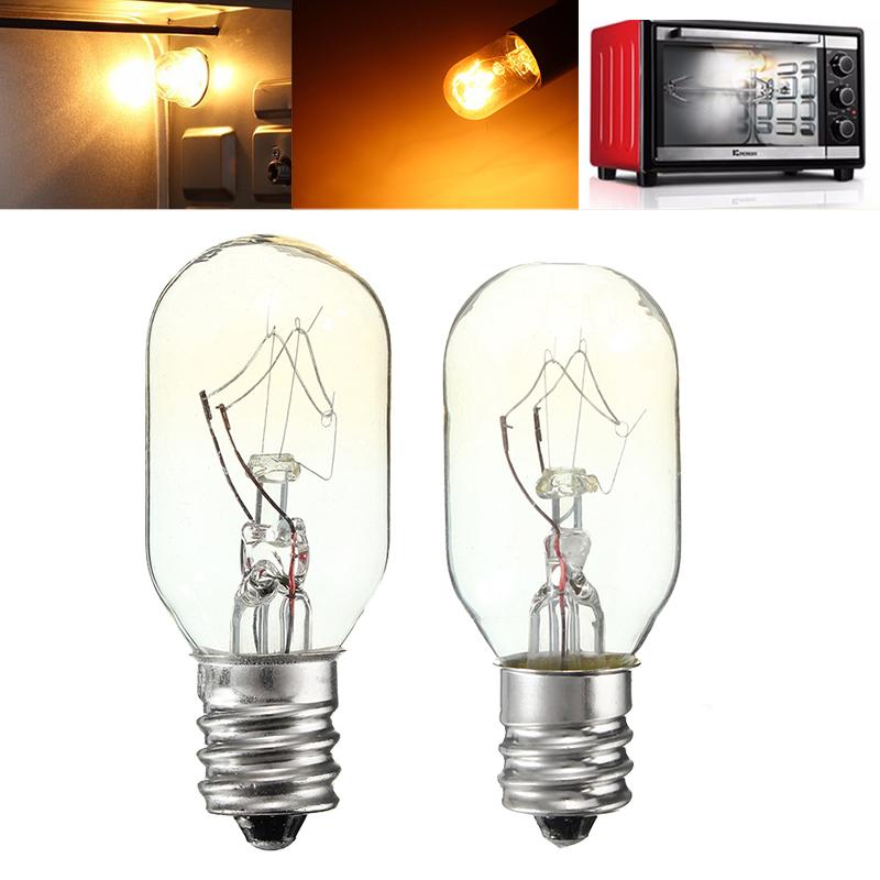 15W / 25W 120V E12 Лампа накаливания Стеклянная лампа Холодильник Соляная печь Лампа