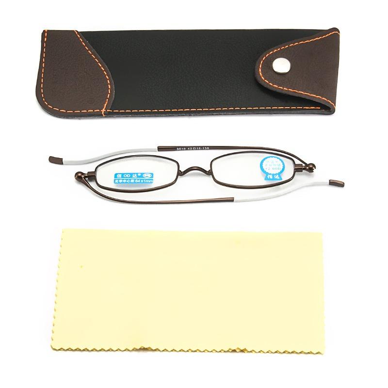 Anti-blue Light Anti-UV Plus Film Resin Reading Glasses