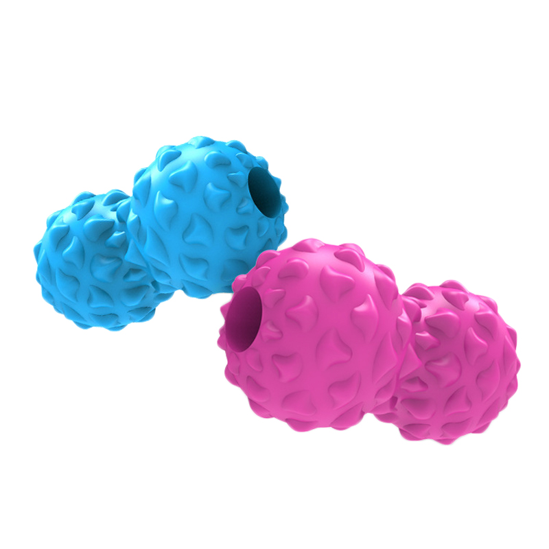 ABS+EVAPeanutМассаж Ball Spiky Trigger Point Muscle Relief Yoga Ball Фитнес Упражнение Ball