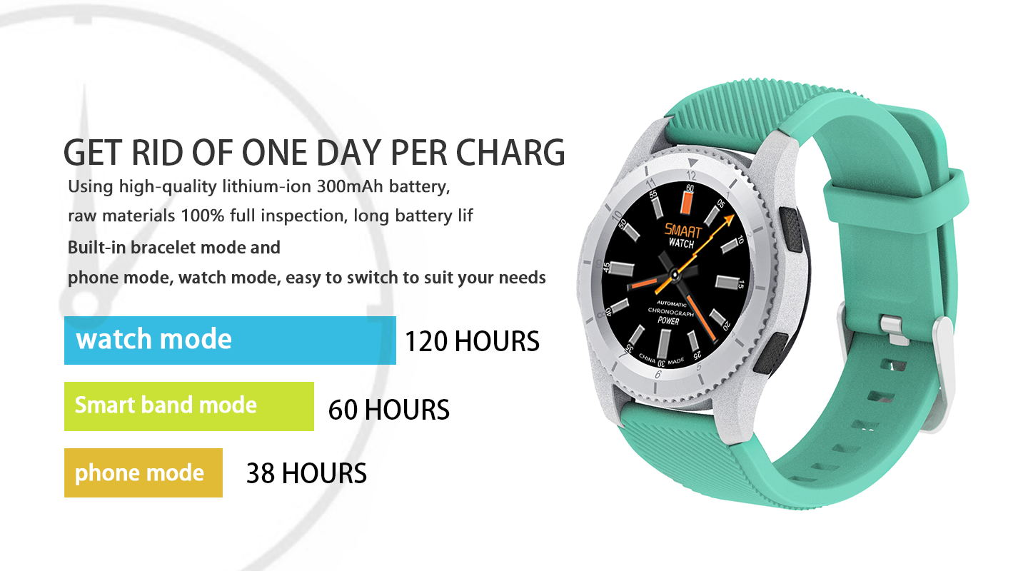 NO 1 G8 MT2502 Blood Pressure Heart Rate Monitor Call SIM Card Smart Watch  for Android IOS