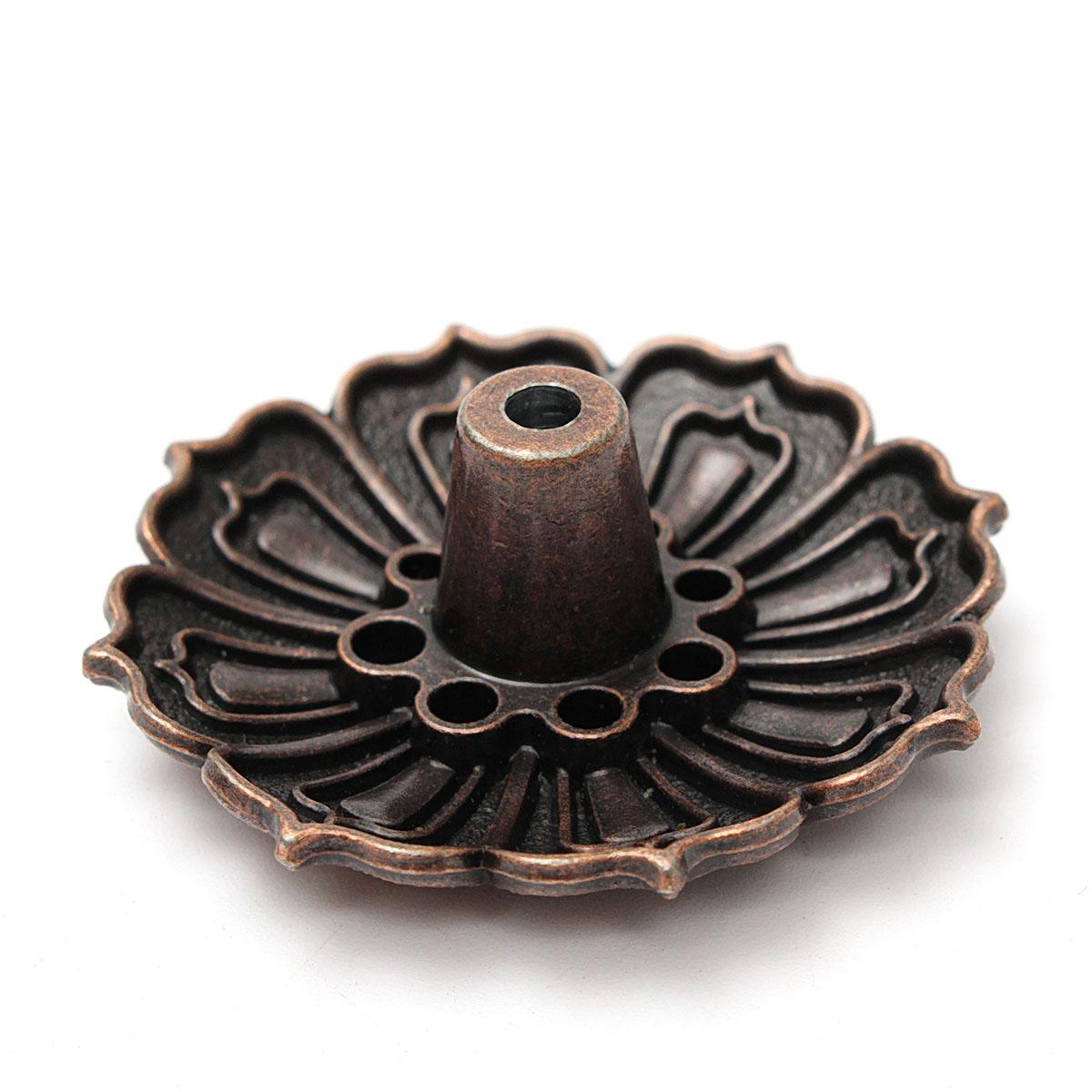 1Holes Alloy Elephant Incense Burner Holder Censer Plate For Sticks /& ConesCP