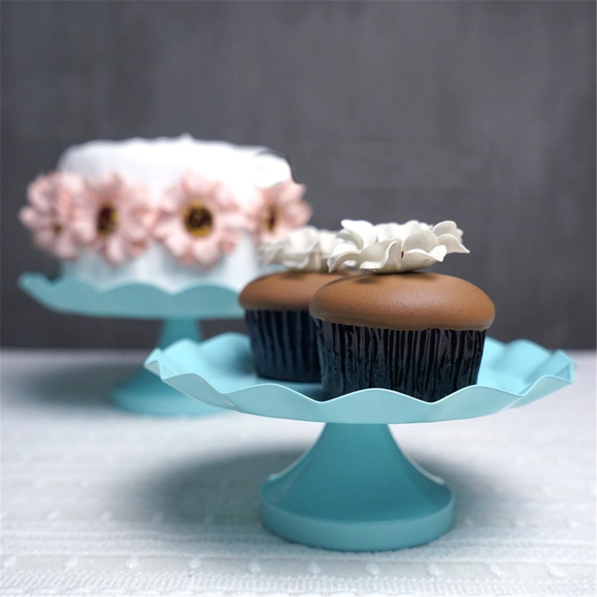 3 размер синий круглый торт кекс подставка подставка Десерт держатель Свадебное партии украшения