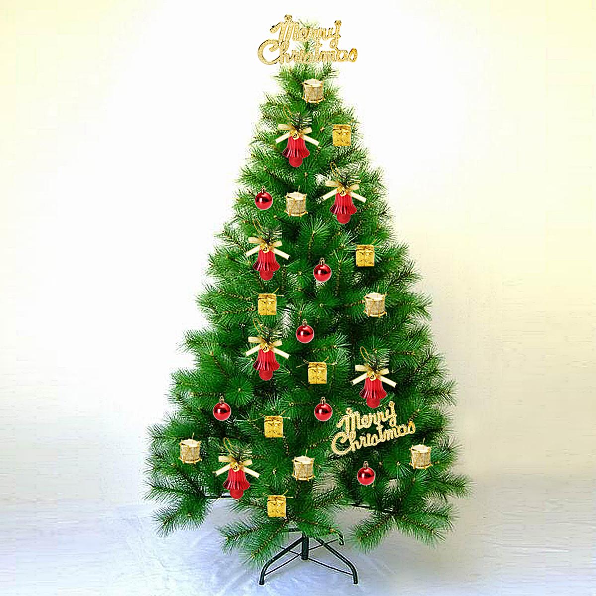 Christmas Tree Balls Decorations.32pcs Christmas Ornaments Balls Drums Baubles Xmas Tree Pendant Home Party Decor