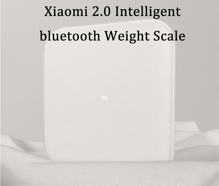 XIAOMI 2.0 Intelligent bluetooth Weight Scale Smart APP Control Precision Weight Scale LED Display Fitness Yoga Tools Scale Support Android IOS 10