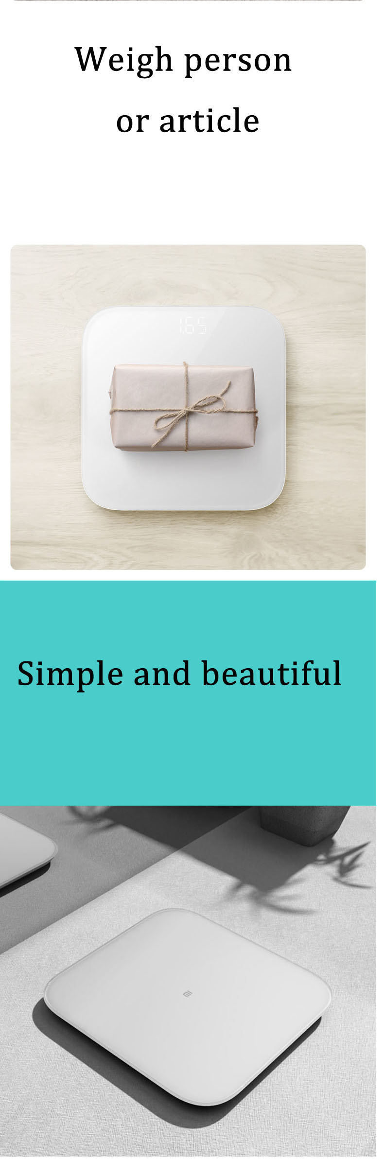 XIAOMI 2.0 Intelligent bluetooth Weight Scale Smart APP Control Precision Weight Scale LED Display Fitness Yoga Tools Scale Support Android IOS 14
