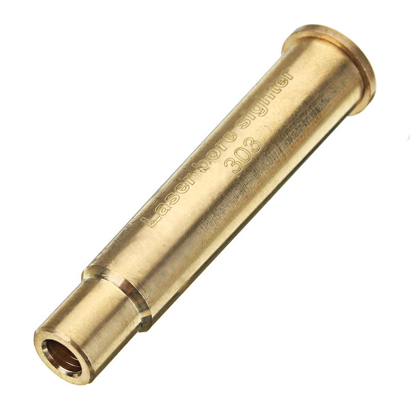 .303 Лазер Boresighter Tatical 303 BR Red Dight Sight Латунный патрон с патроном