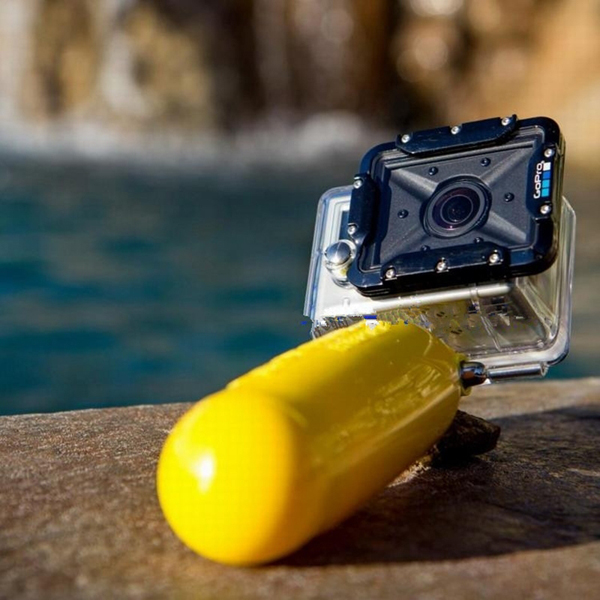 PULUZ Flat-Bottomed сплошной цвет Bobber плавающей рукояткой плавучести стержни для Gopro Yi Sport камера
