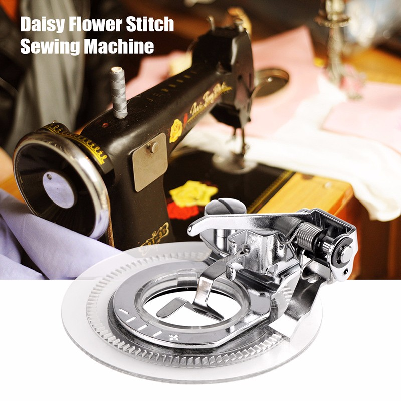 Embroidery Flower Stitch Sewing Machine Presser Foot for Janome Sewing Machine Parts & Accs