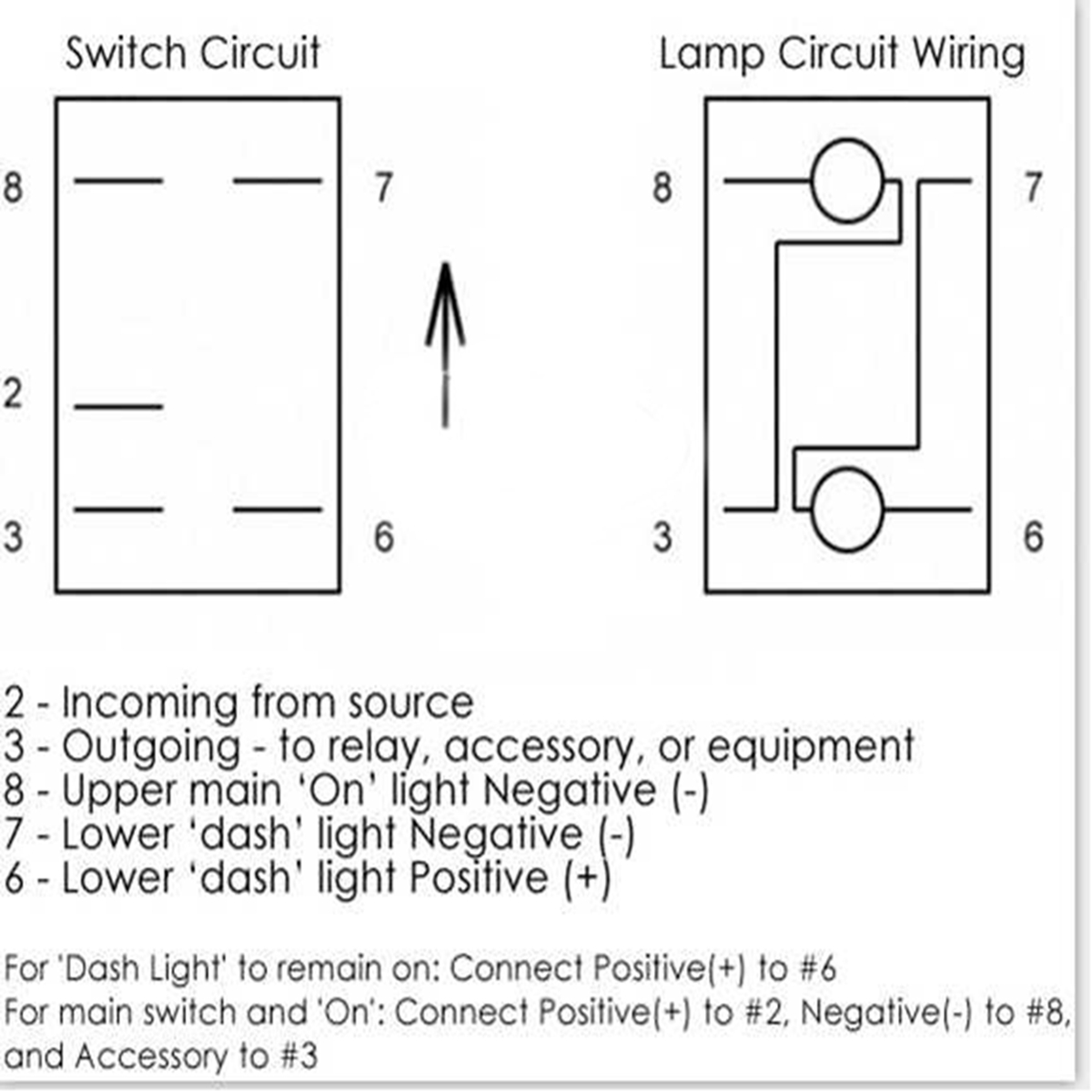 Switch Wiring Diagram Carling Get Free Image About Wiring Diagram
