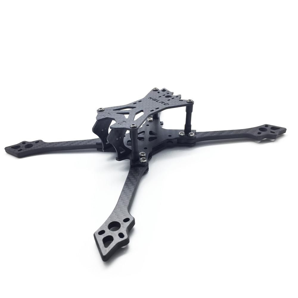 HGLRC Batman220 220mm Carbon Fiber Frame Kit 5mm Arm for RC FPV Racing Drone
