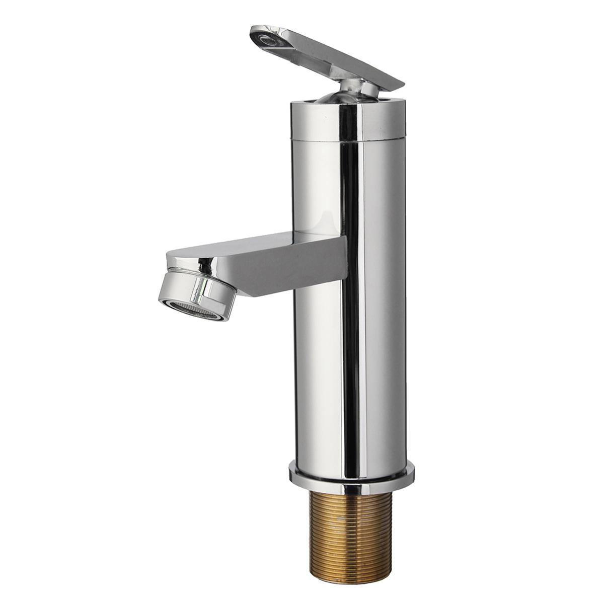 Смеситель для раковины в ванной комнате с двумя отверстиями для горячей и холодной воды