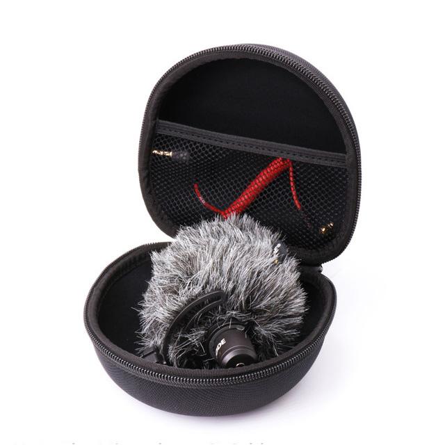 AriMic Защитная Чехол Портативная переносная сумка для путешествий Коробка для RODE VideoMic Me Микрофон