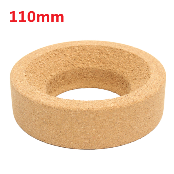 110mm Laboratory Cork Stands Ring Mat Round Bottom for