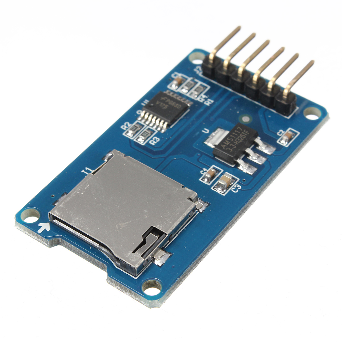 10Micro TF Card Memory Shield Module SPI Micro Storage Card Adapter For Arduino, Eachine1, Module Board For Arduino  - buy with discount
