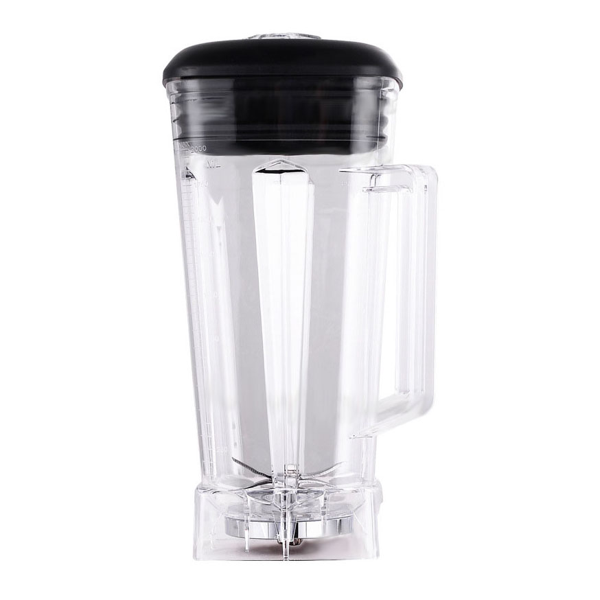 Blender Spare Parts 2L Square Container Pot Jar Jug Cup Bottom with Smoothies Blades Lid