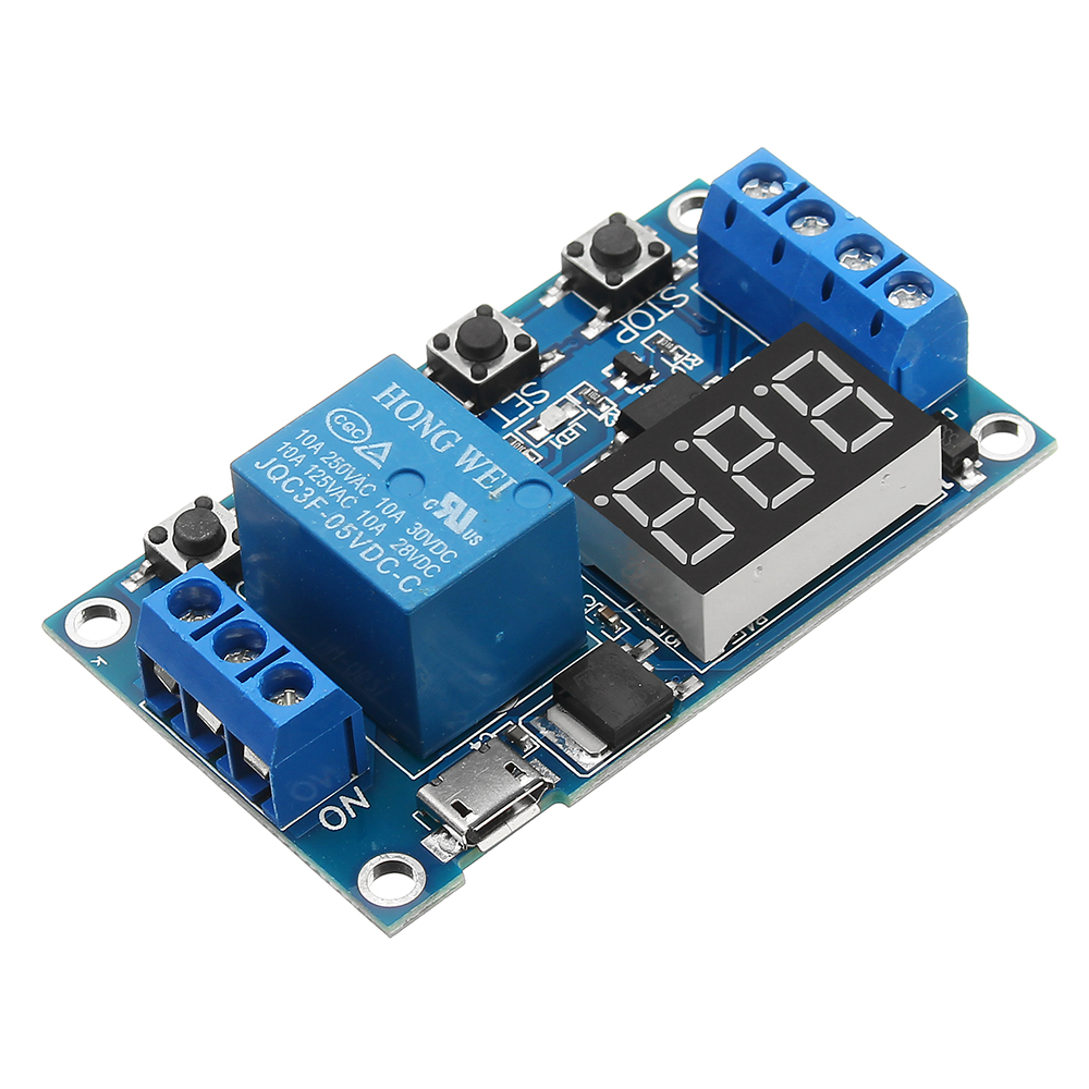 FRM01 DC 12V 1 Channel Multifunction Relay Module Loop Delay Timer Switch JL