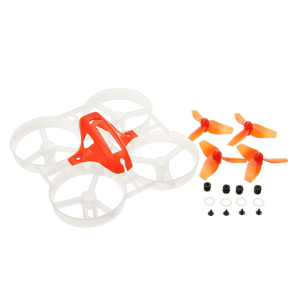 40mm Propeller 75mm Rahmen Satz Sets Für KINGKONG / LDARC Tiny7 Tiny Whoop Racing Quadcopter