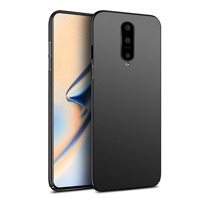 Bakeey Ultra-thin Frosted Anti-Fingerprint Hard PC Protective Case For OnePlus 7 PRO