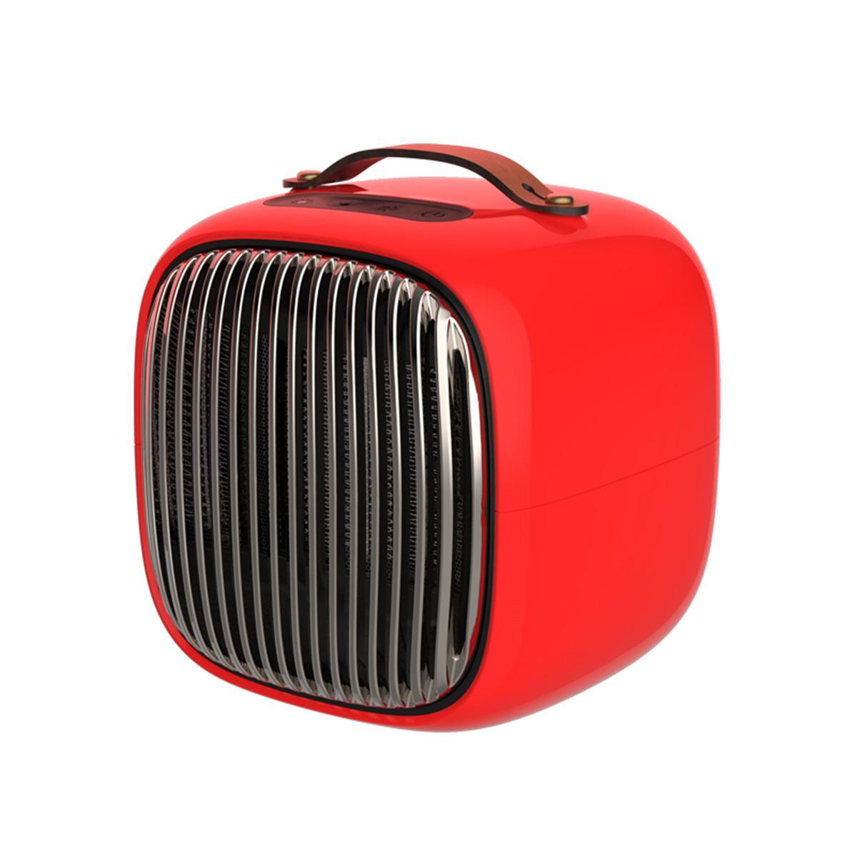 220V 1000W Портативный воздух Нагреватель Обогреватель вентилятора Черный / Белый / Красный / Оранжевый Защита от перегрева