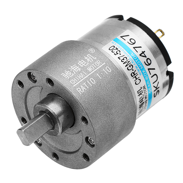 QTY-1 DC6V ZB4124-300 Valve DC Motor Micro Speed Reduction Motor with Metal Gear