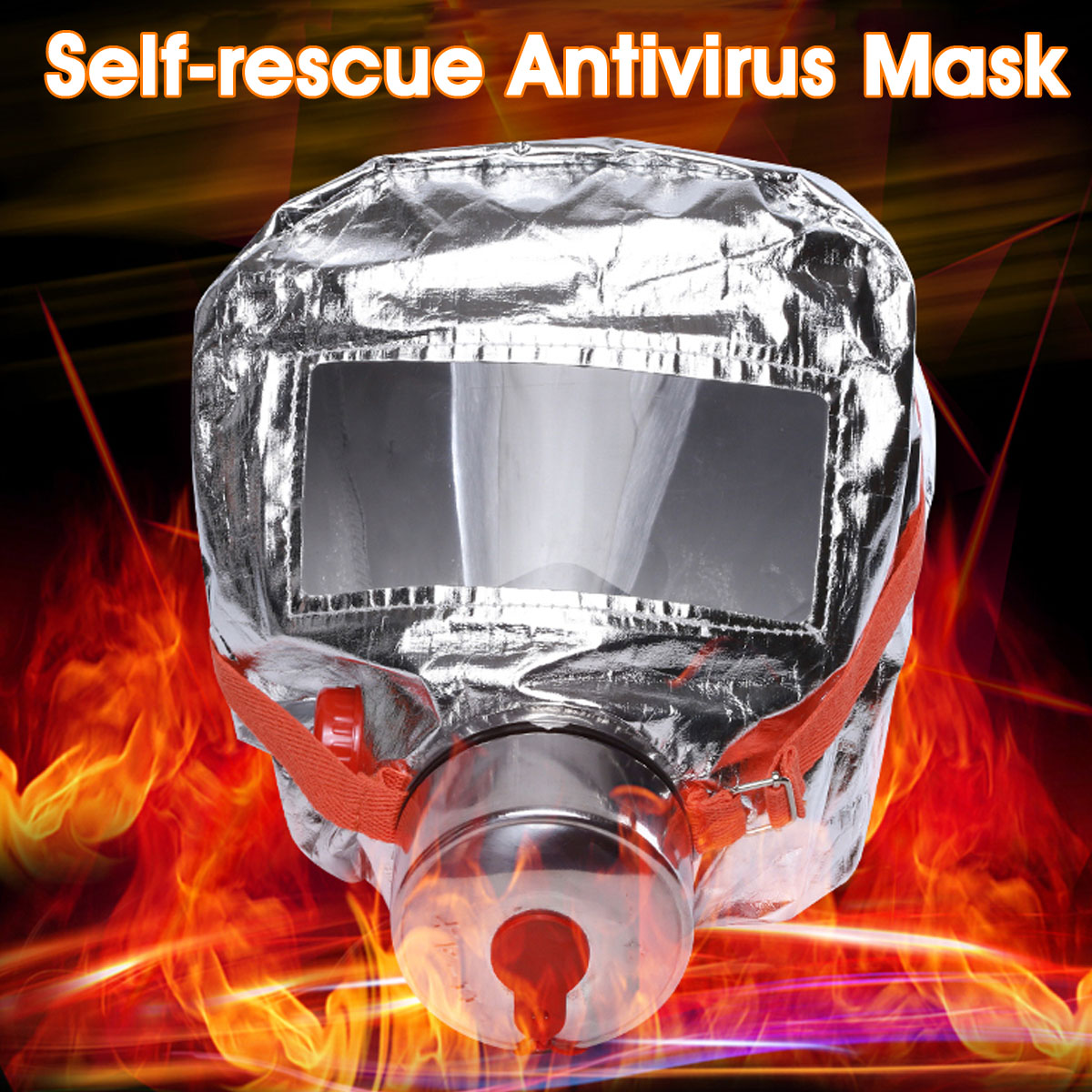 Safety Self-rescue Gas Mask Filtering Respiratory Protective Devices 10