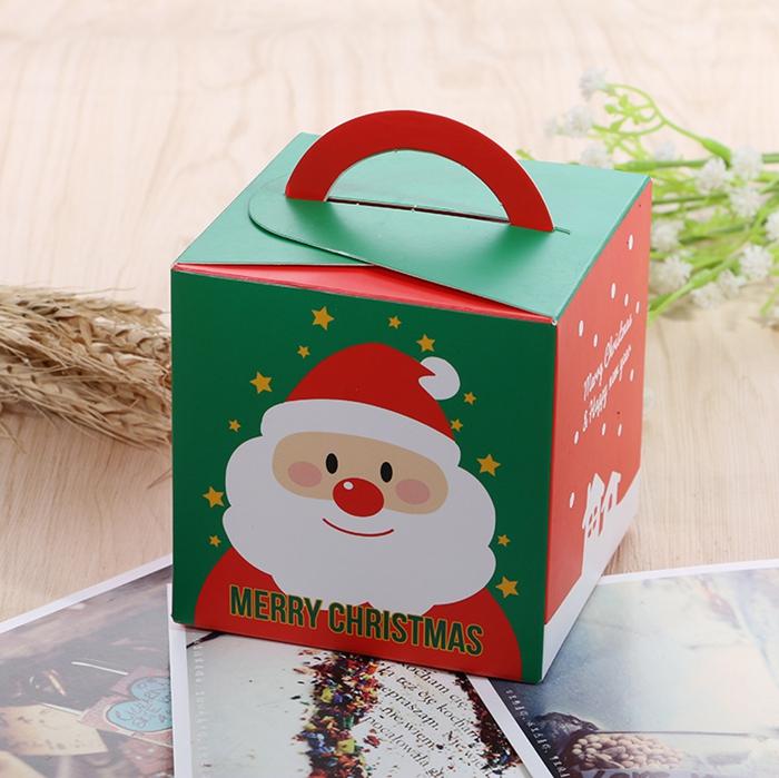 Рождество 2017 Санта-бумажный подарок Коробка Candy Коробка Party Christmas Stocking Jewelry Packaging Коробка