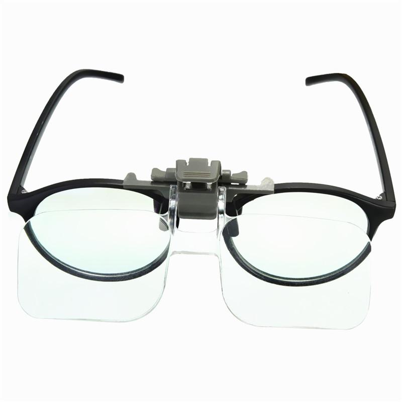 HD-объектив Точная Clip On Clear Складной Лупы Handsfree Чтение очки Украшения Оценка Watch Repair Tool