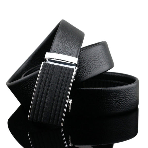 125-130CM Business Leather Strap Fashion Automatic Buck