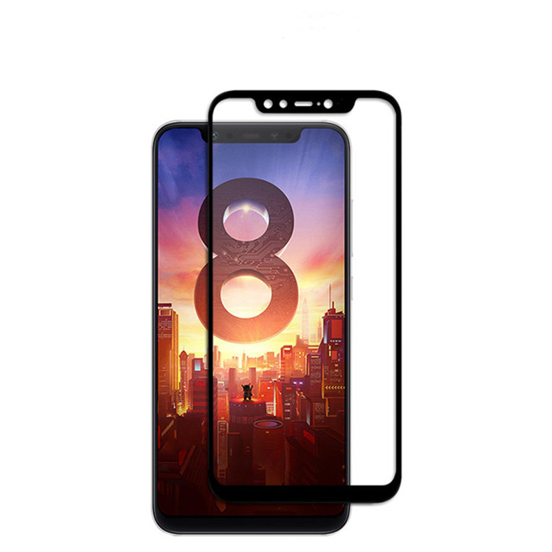 BAKEEY Anti-Explosion Full Cover Tempered Glass Screen Protector for Xiaomi Mi 8 / Xiaomi Mi 8 Pro
